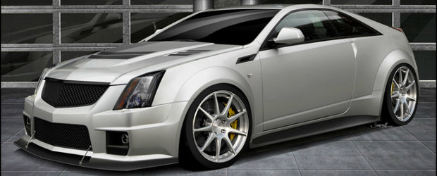 Cadillac CTS-V Coupe by Hennessey - Un tuning de 1.000 cai putere