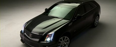 Cadillac CTS-V Sport Wagon - Close-up