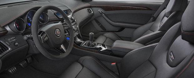 Cadillac isi ia adio de la actualul CTS-V Coupe cu o noua editie speciala