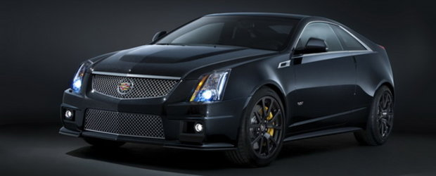 Cadillac lanseaza pretiosul CTS-V Black Diamond Edition