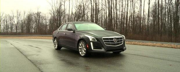 Cadillac prezinta in actiune si detaliu noul CTS