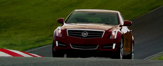 Cadillac promoveaza noul ATS in cadrul Super Bowl 2012