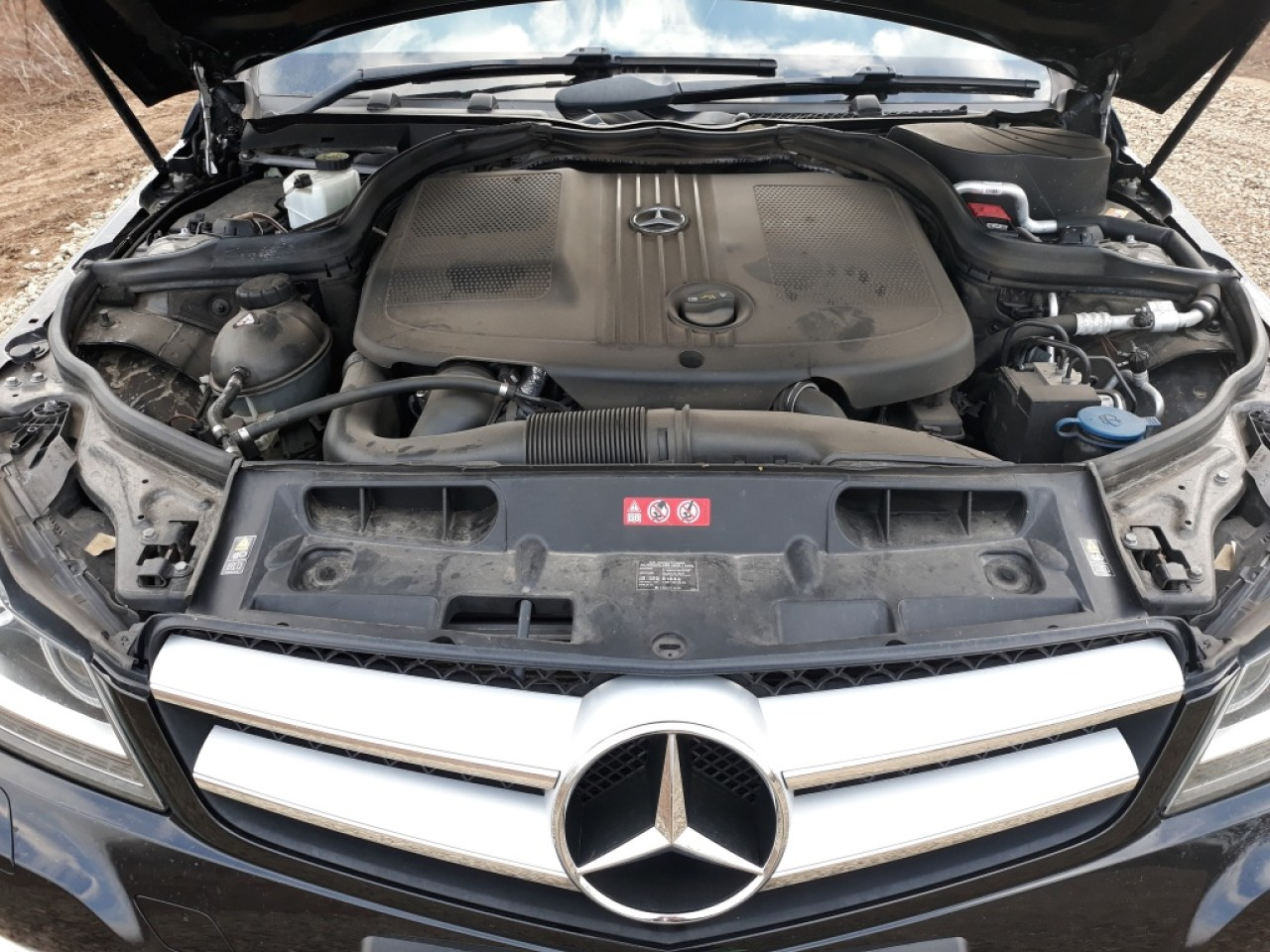 Cadru motor Mercedes C-CLASS W204 2013 coupe 2.2