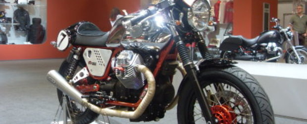 Cafe Racer: Moto Guzzi V7 Clubman