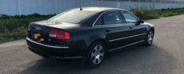 Calatoreste ca un presedinte de stat la bordul acestui Audi A8 W12 blindat. POZE REALE