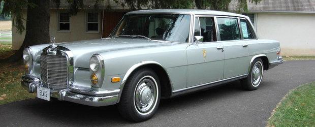 Calatoreste pe locul lui Elvis Presley la bordul acestui Mercedes 600 care i-a apartinut chiar Regelui Rock 'n' Roll