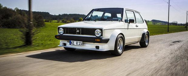 Calatorie in timp cu ABT Sportsline si un VW Golf GTI modificat in 1982