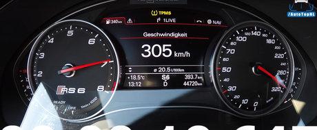 Calci acceleratia si 19 secunde mai tarziu esti la 300 de km/h. Toate astea cu un break de 1.000 de cai