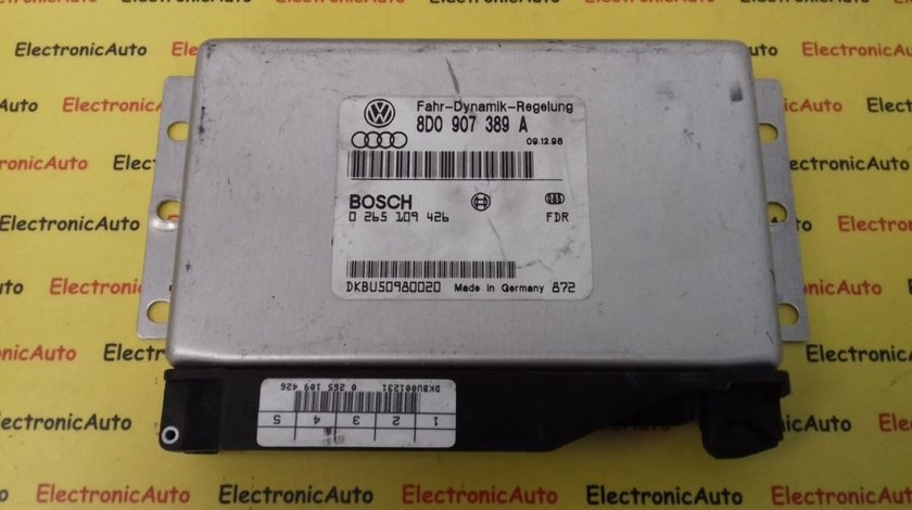 Calculator ABS Audi A4, A6, 8D0907389A, 0265109426