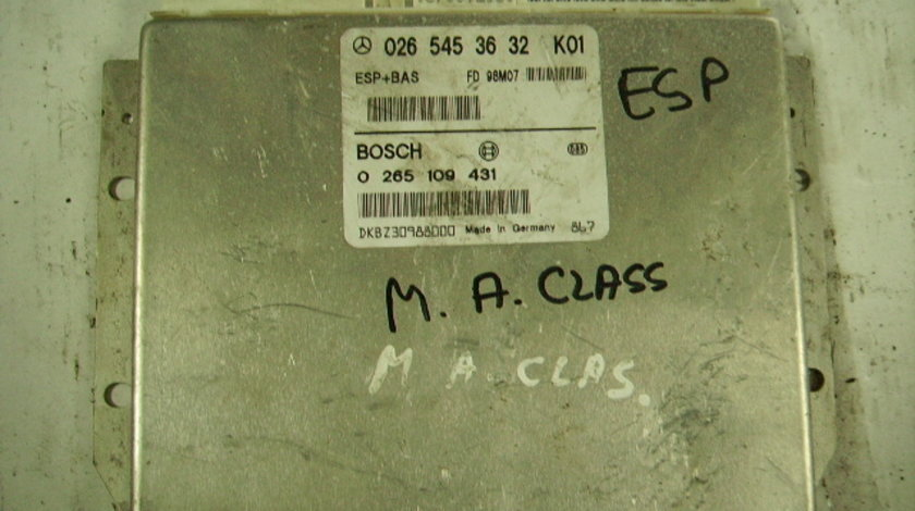 Calculator ABS Mercedes A160 W168
