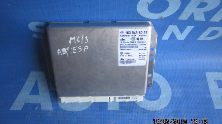 Calculator ABS Mercedes M400 W163; 1635458032 (ESP)