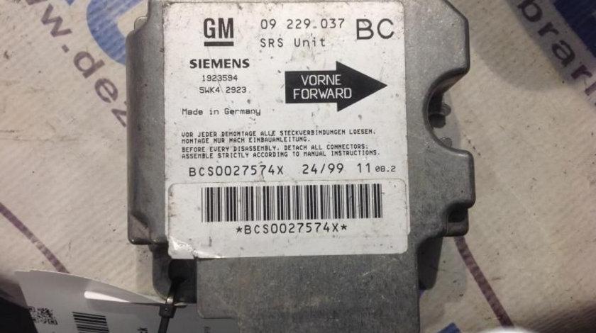 Calculator Airbag 09229037 Opel ASTRA G hatchback F48 ,F08 1998-2009