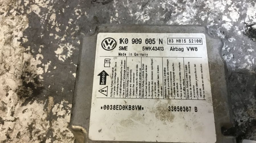 Calculator Airbag 1k0909605n Volkswagen GOLF V 1K1 2003