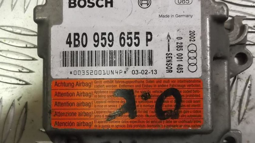 CALCULATOR AIRBAG, 4B0959655P, AUDI A6 1.9TDI