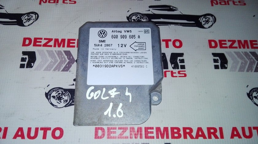 calculator airbag 6Q0909605A pentru Volkswagen Golf 4