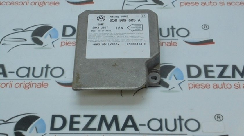 Calculator airbag, 6Q0909605A, Vw Bora 1.9 tdi, ASV