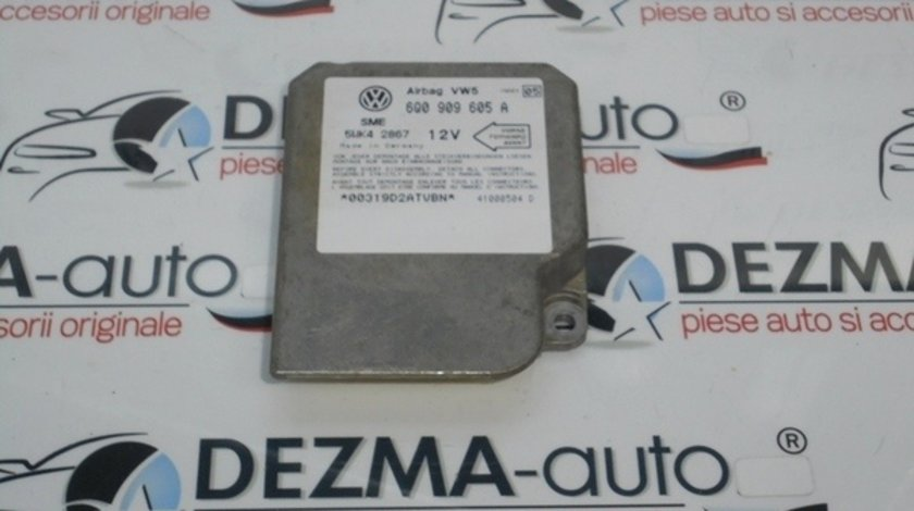 Calculator airbag, 6Q0909605A, Vw Bora (1J2) 1.9 tdi (id:126234)