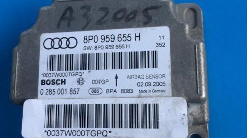 Calculator airbag Audi A3 8P an 2003 - 2012 cod 8P0959655H