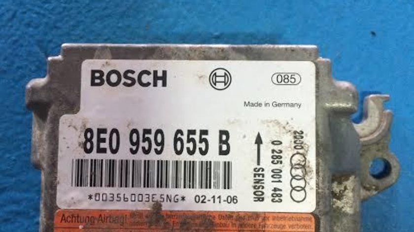 Calculator airbag Audi A4 8EC / B6 B7 1.9 tdi cod: 8E0959655B 2001-2008