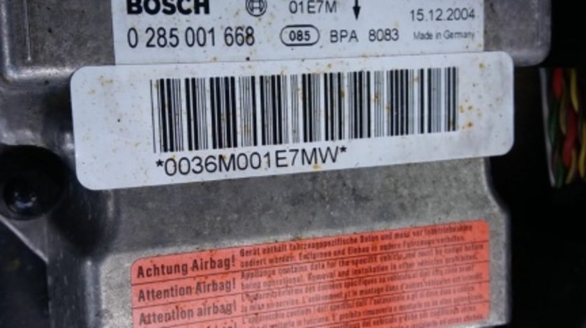 Calculator airbag Audi A4 B7 cod 8E0959655G 0285001668
