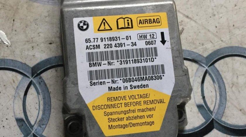Calculator airbag BMW E60 65.77 9118931 01