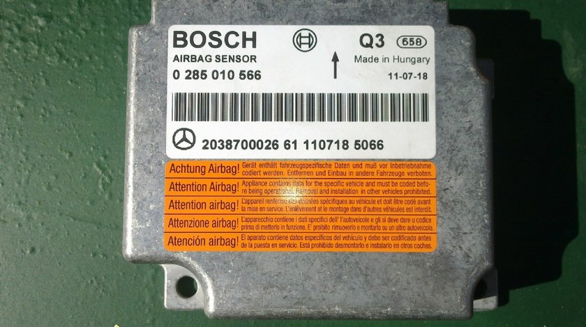 Calculator airbag bosch pt mercedes a 203 870 00 26