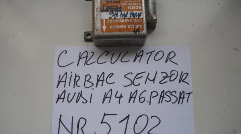 Calculator airbag cu senzor audi a4 a6 sau passat