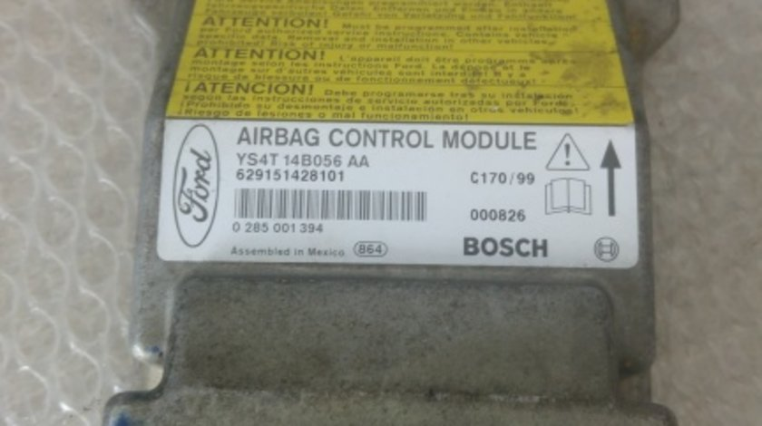 Calculator airbag electric ford focus 1 ys4t14b056aa