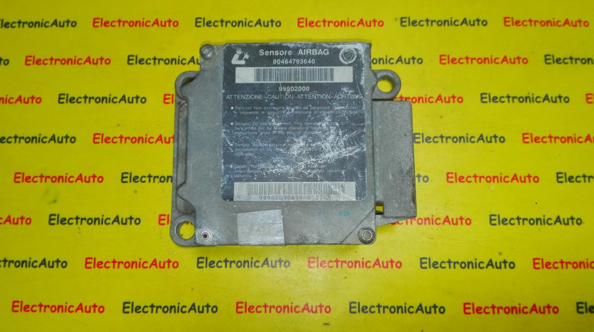 Calculator airbag Fiat Brava 00464793640