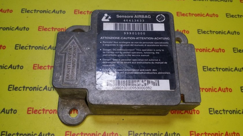 Calculator airbag Fiat Brava 46413633