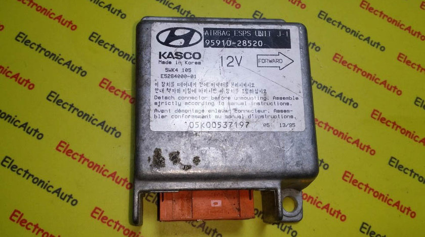 Calculator airbag Hyundai Elantra 9591028520