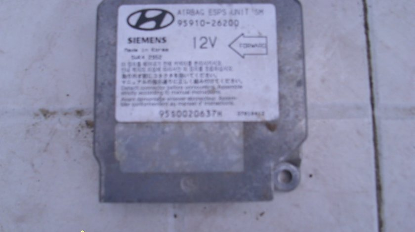 Calculator airbag Hyundai Santa Fe 2.7 V6; 95910-26200