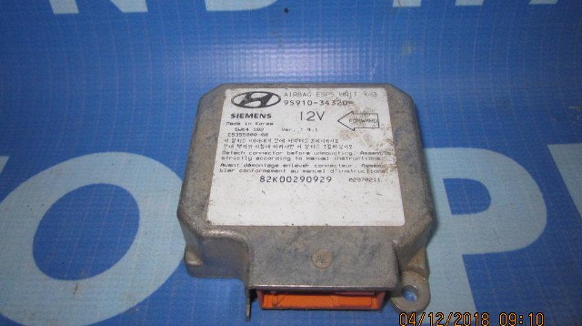 Calculator airbag Hyundai Sonata; 9591034320