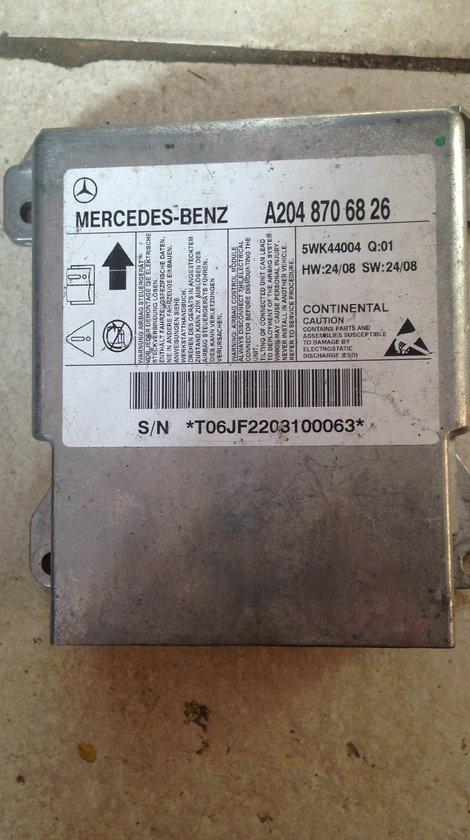 calculator airbag mercedes c class w204 2009 cod a 204 870 68 26