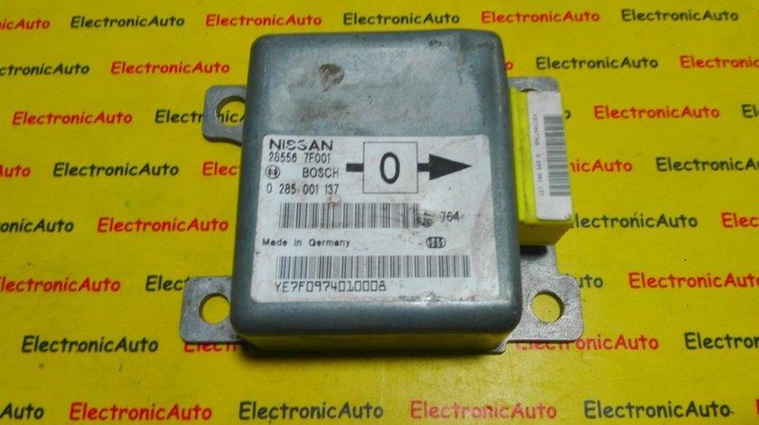 Calculator airbag Nissan Terrano 0285001137, 285567F001