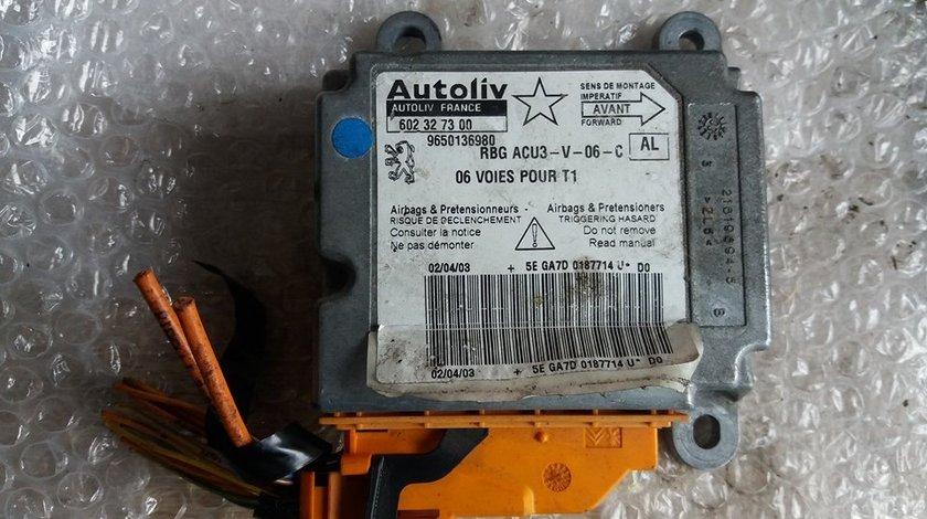 Calculator airbag peugeot 206 9650136980