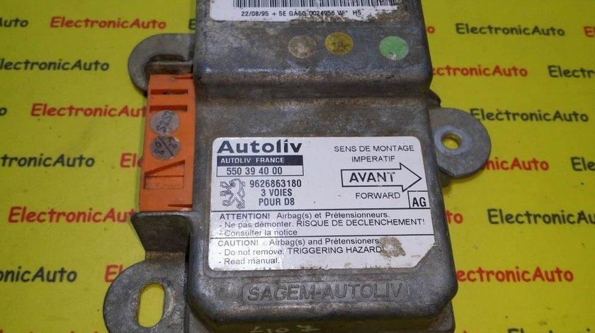Calculator airbag Peugeot 407 cod: 550 39 40 00 550394000 9626863180