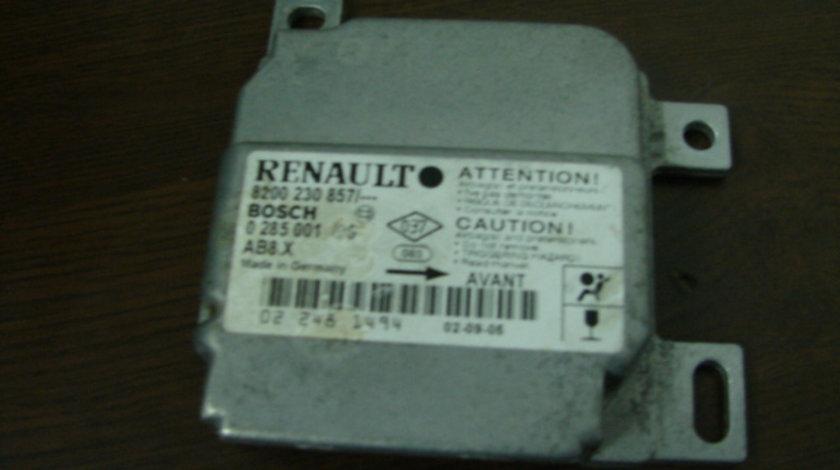 Calculator airbag Renault Clio generatia 2 [1998 - 2005] Hatchback 3-usi 1.5 DCI MT (65 hp) II (BB0/1/2_ CB0/1/2_)