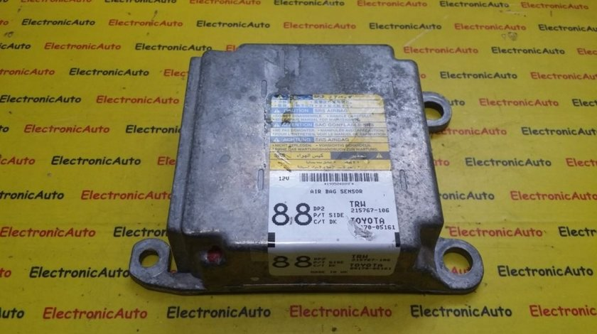 Calculator Airbag Toyota Avensis, 215767106, 8917005161
