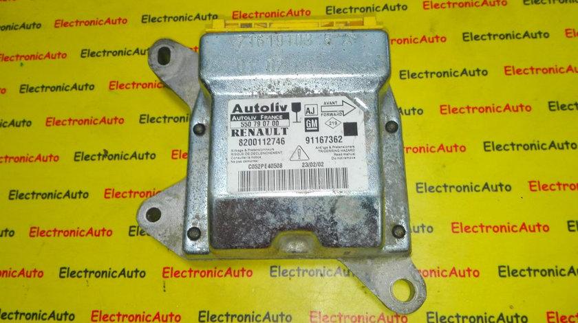 Calculator airbag Toyota Avensis 91167362, 8200112746