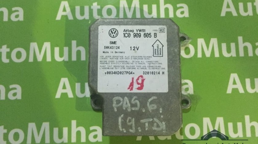 Calculator airbag Volkswagen Golf 4 (1997-2005) 5WK43124