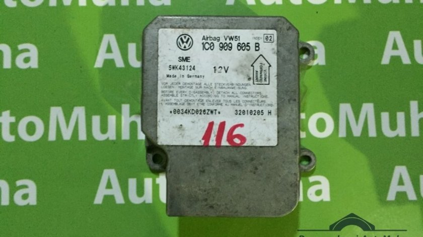 Calculator airbag Volkswagen Golf 4 (1997-2005) 1C090605B