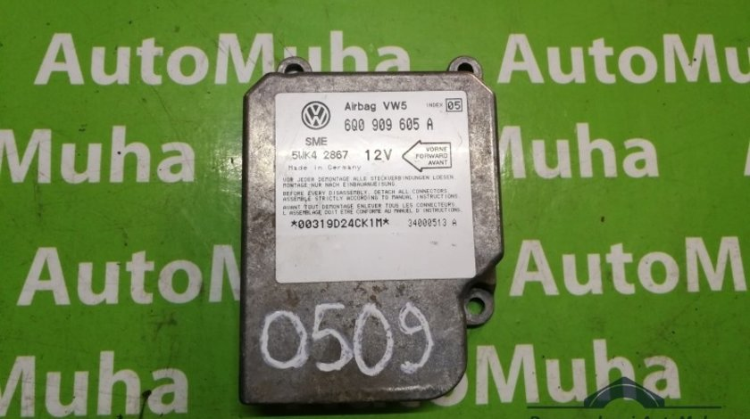 Calculator airbag Volkswagen Golf 4 (1997-2005) 6q0909605a