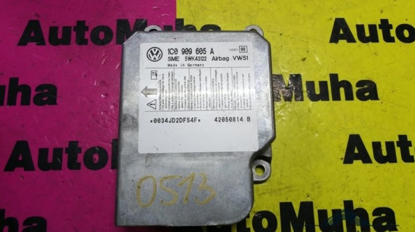 Calculator airbag Volkswagen Passat B5 (1996-2005) 1c0909605a