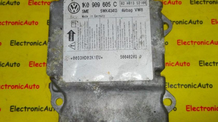Calculator airbag VW Golf 5 1K0909605C