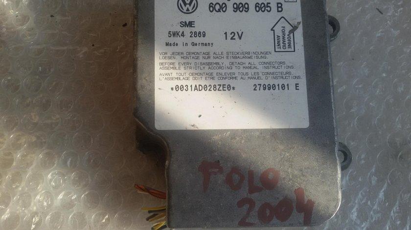 Calculator airbag vw polo 9n passat 2001-2012 6q0909605b