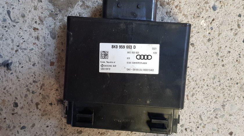 Calculator baterie Stabilizator Tensiune Audi A6 4G A7 A8 4H 2012 2013 2014