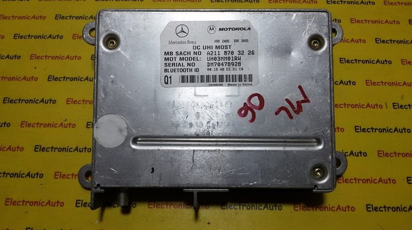Calculator BLUETOOTH MERCEDES ML W164 A2118703226, A211 870 32 26
