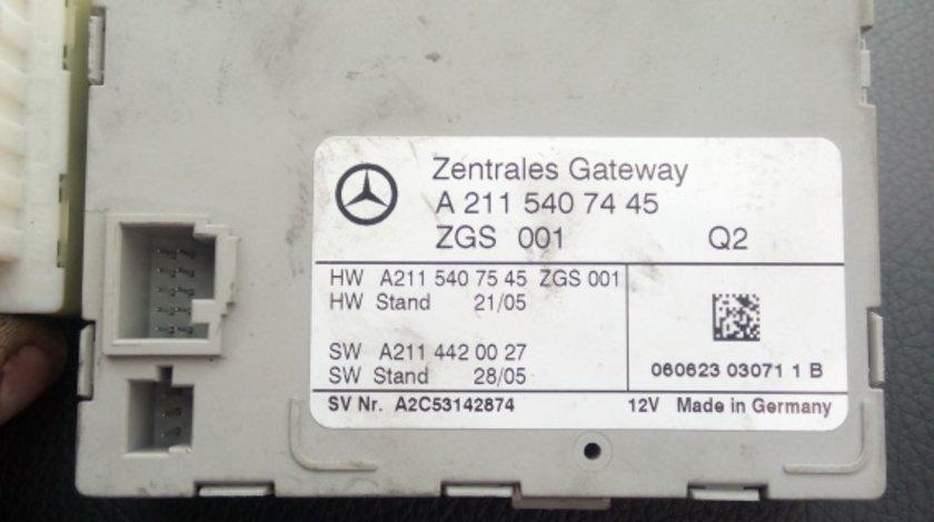 Calculator central mercedes w211 A2115407445