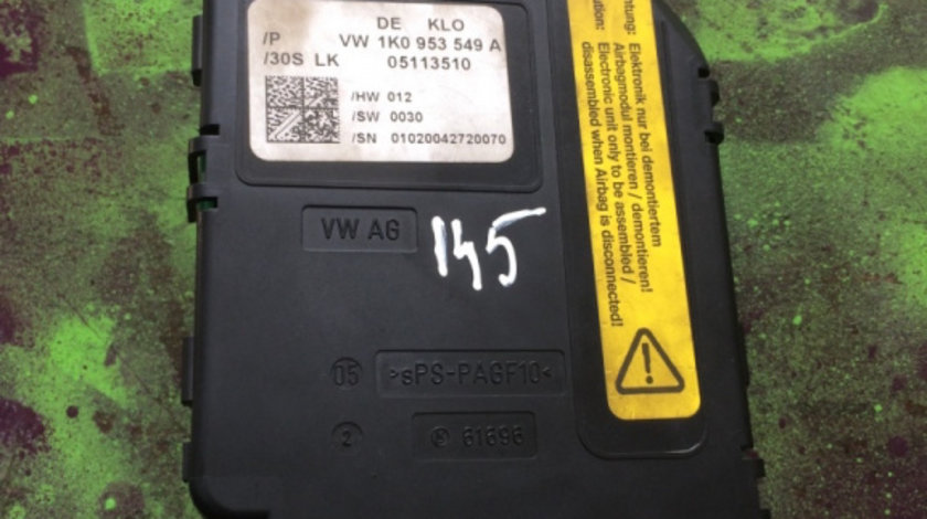 Calculator coloana volan Skoda Octavia generatia 2 [2004 - 2008] Liftback 5-usi 2.0 TDI MT (140 hp) 1Z3